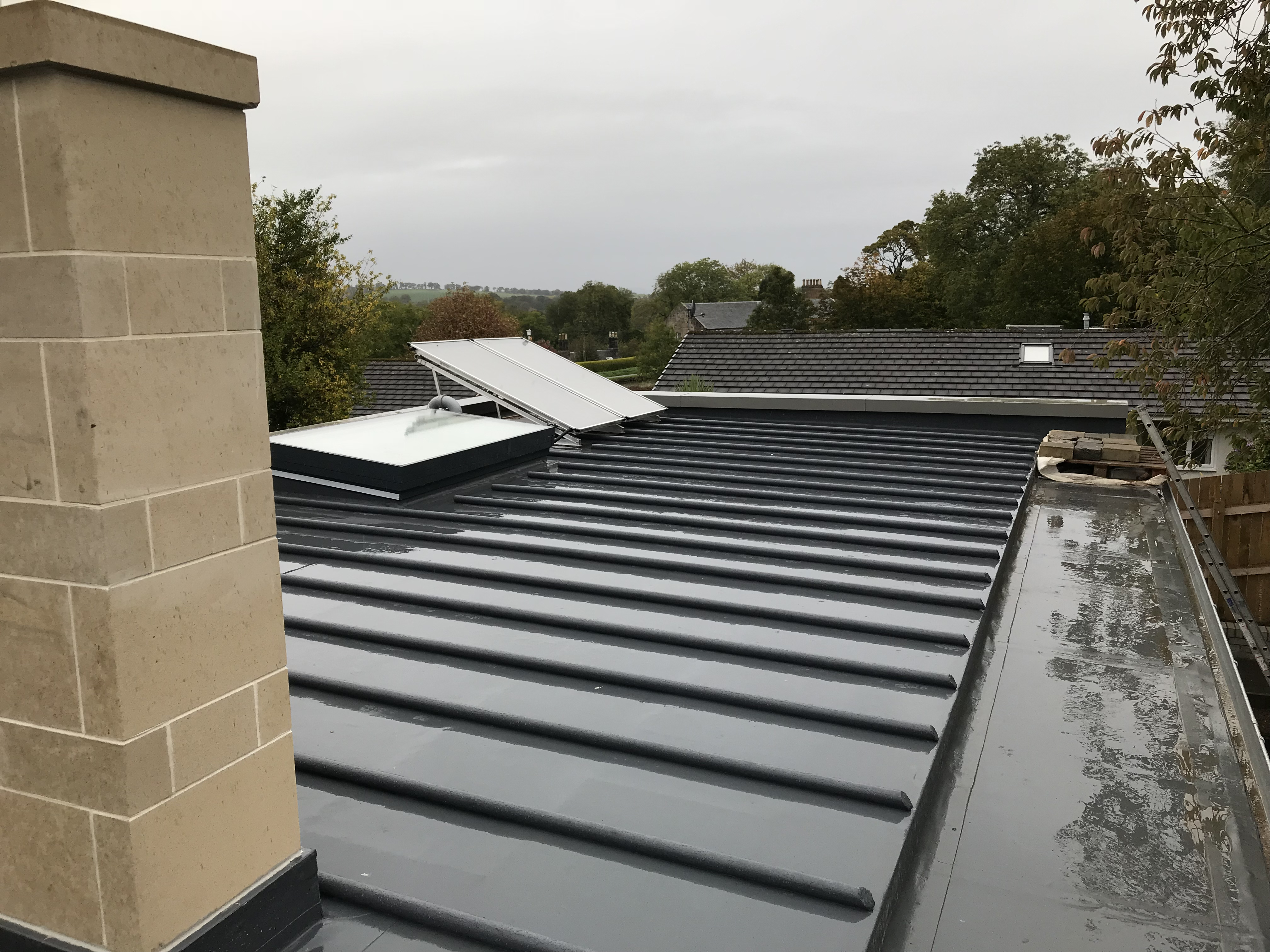 Flat Roofing Installations And Repairs Rooftec Falkirk Scotland