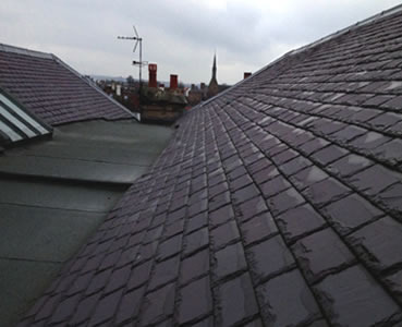 Slate roofs in Falkirk